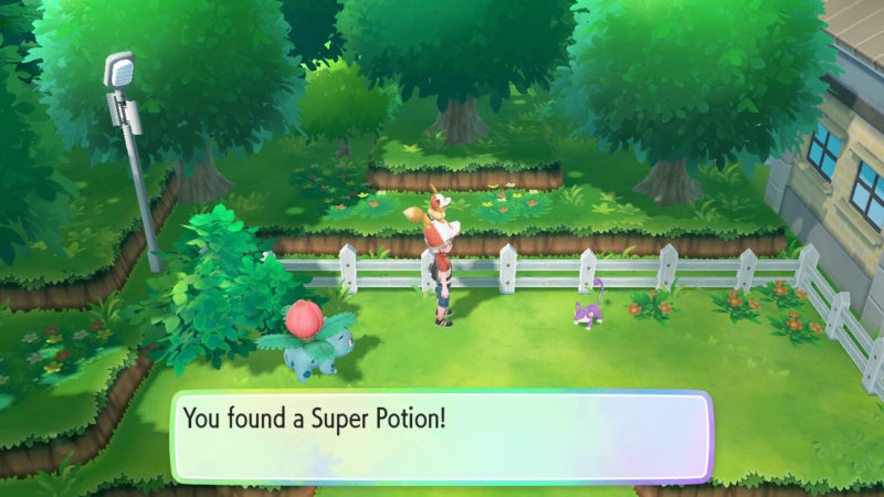pokemon let's go route 6 available items