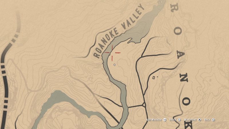 rdr2 wolfman location