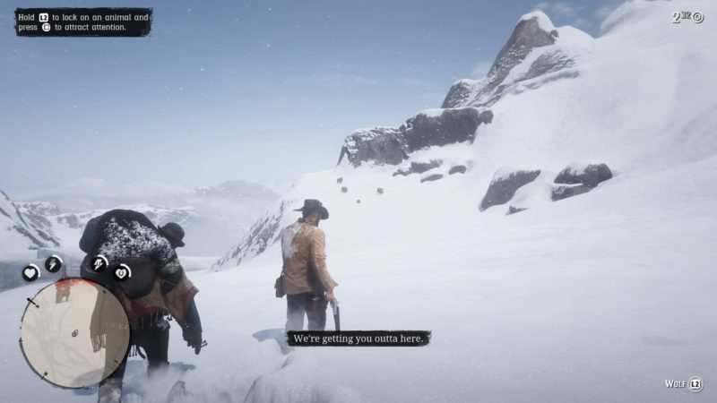 red-dead-redemption-2-enter-pursued-by-a-memory-walkthrough
