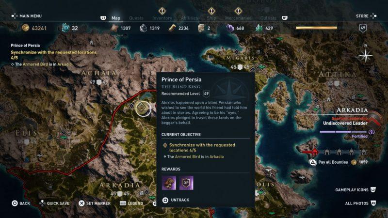 the-blind-king-arkadia-location