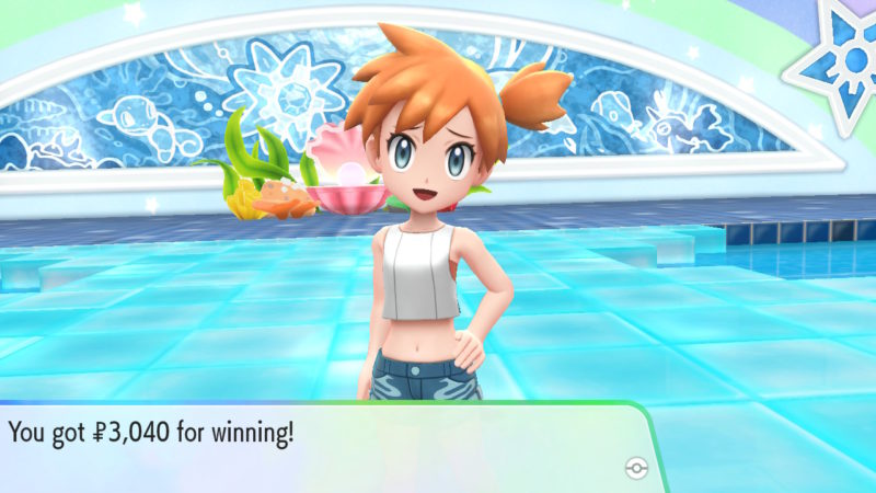 what is good against misty gym cerulean city