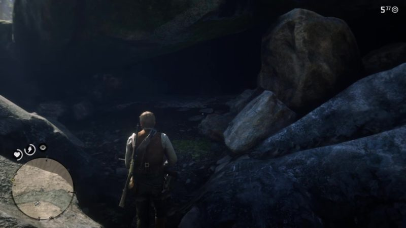 wolfman location - red dead 2