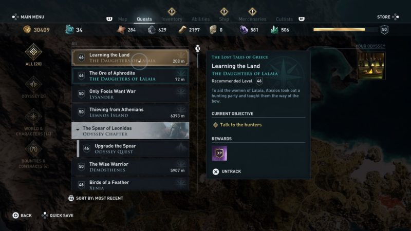 ac-odyssey-learning-the-land-quest-guide