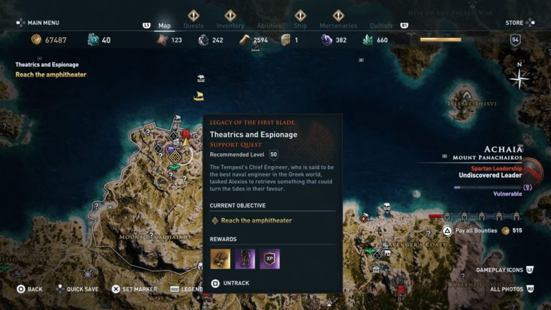 ac-odyssey-theatrics-and-espionage-quest-guide