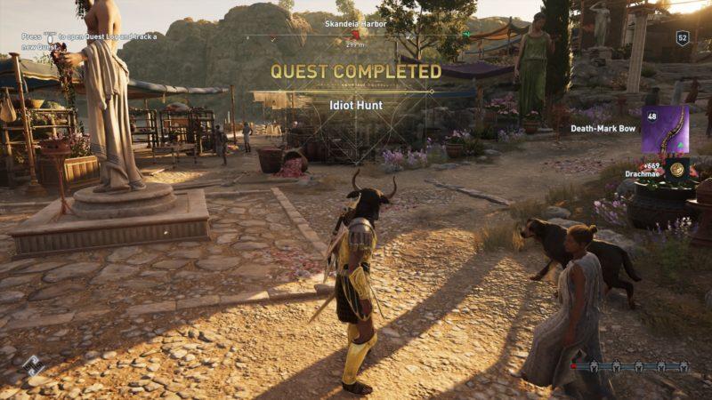 assassins-creed-odyssey-idiot-hunt-walkthrough