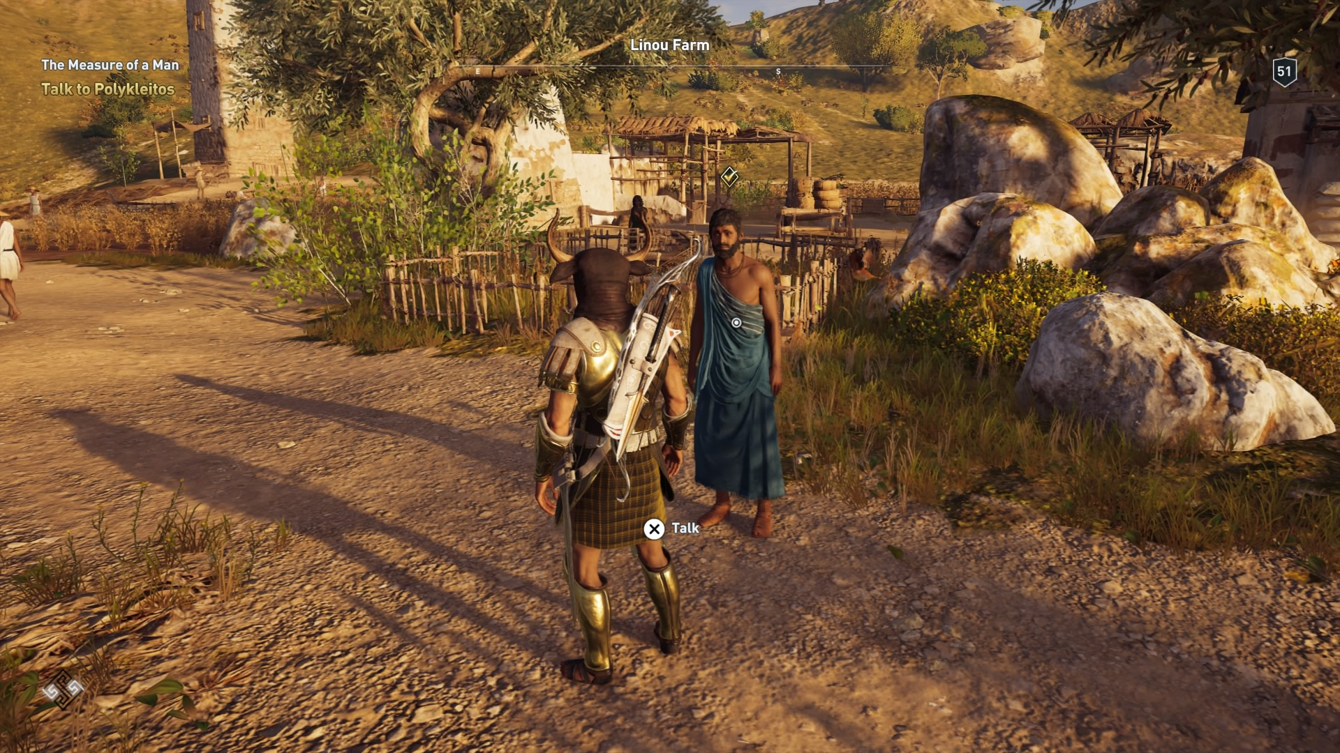 Assassin's Creed Odyssey: The Measure Of A Man (Walkthrough)