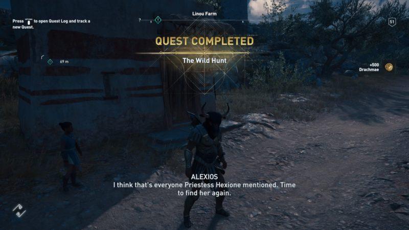 assassins-creed-odyssey-the-wild-hunt-walkthrough