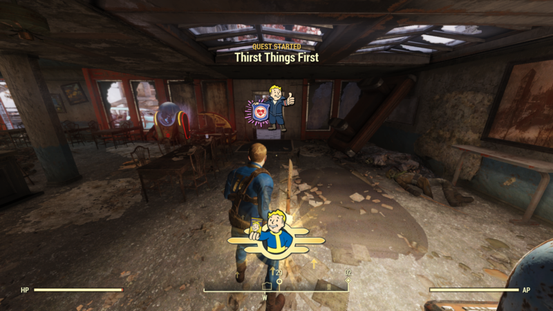fallout 76 thirst things first