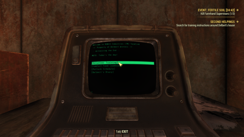 fo76 second helpings guide