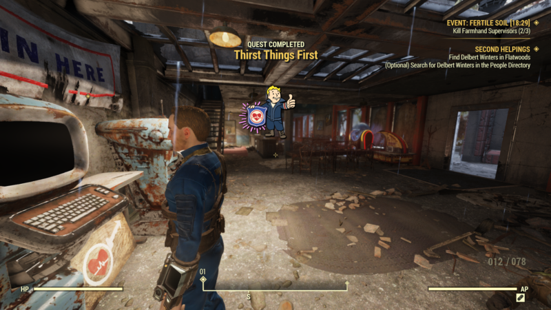fo76 thirst things first quest walkthrough