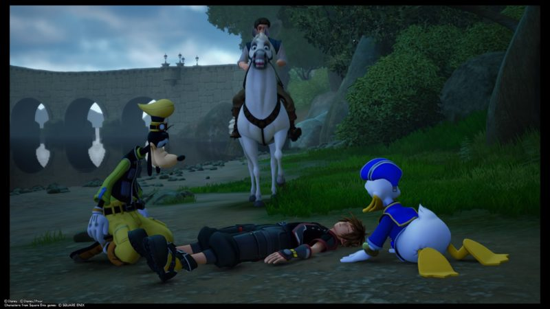 kingdom-hearts-3-kingdom-of-corona-sora-sleeping