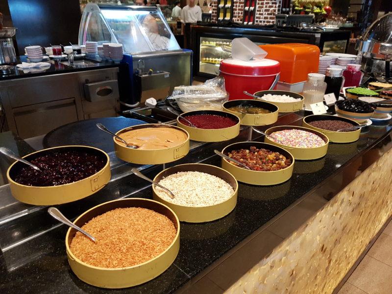 spice market buffet spread - shangri-la penang