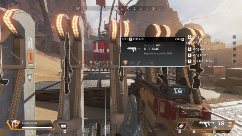best smg in apex legends