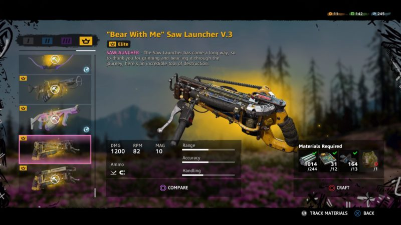 best saw launcher in far cry new dawn