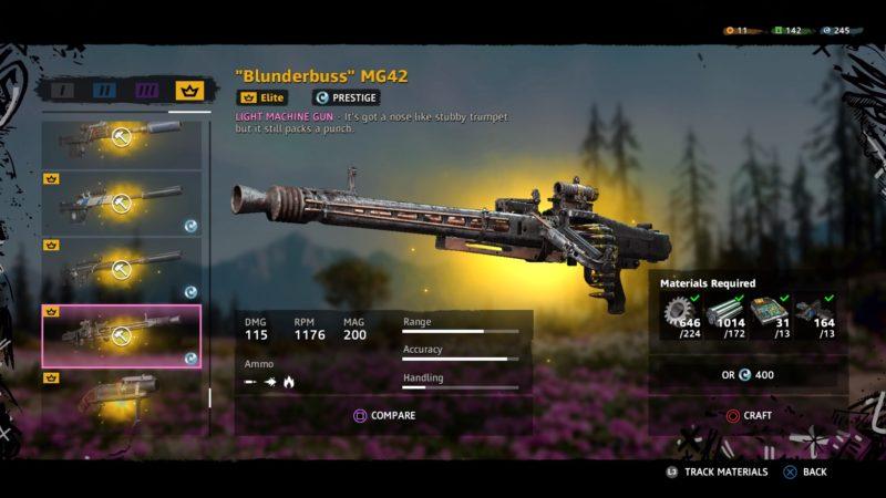 best machine gun in new dawn