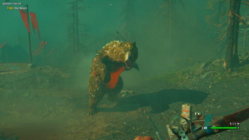 far-cry-new-dawn-josephs-secret-how-to-kill-the-bear-fast