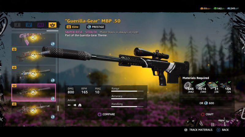 best sniper in new dawn