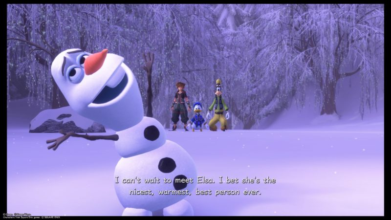 kingdom-hearts-3-arendelle-the-north-mountain-intro-to-olaf