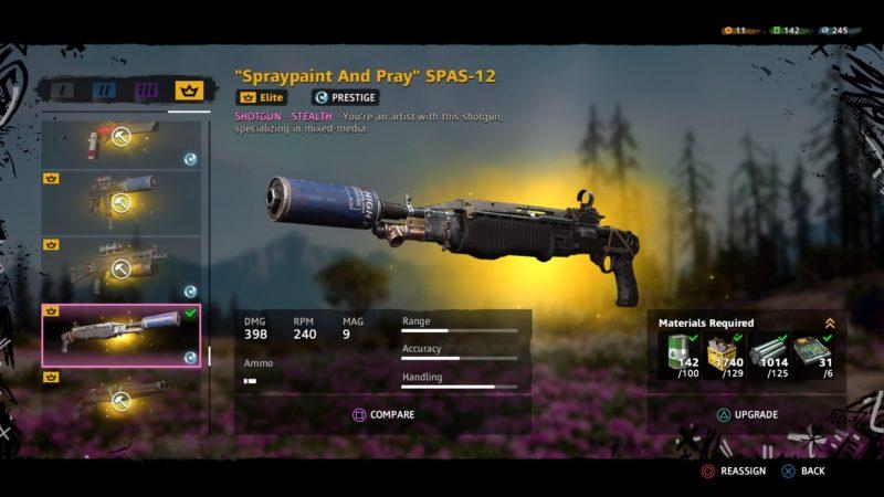 best shotguns in far cry