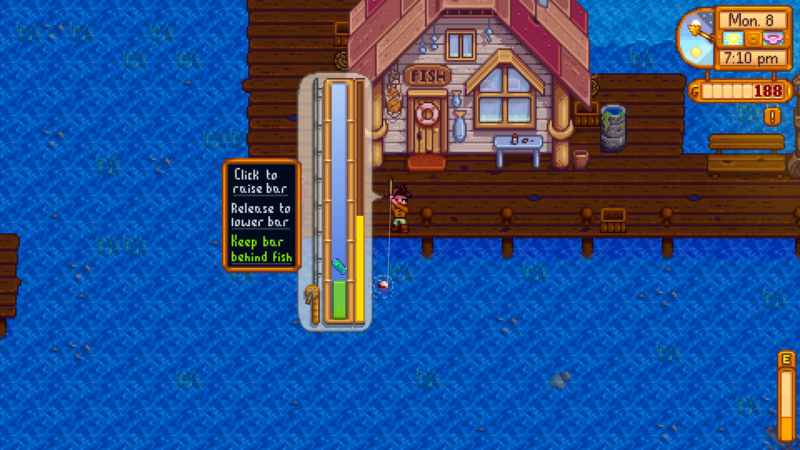 stardew valley - how to do fishing