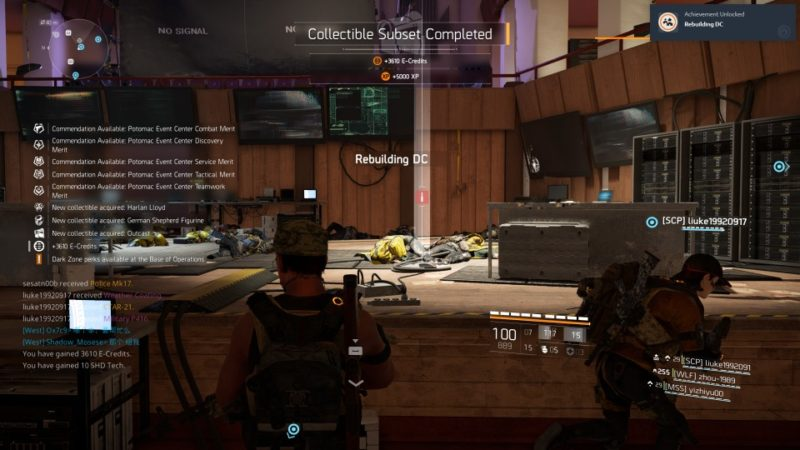 Tom Clancy's The Division 2 - potomac event center walkthrough