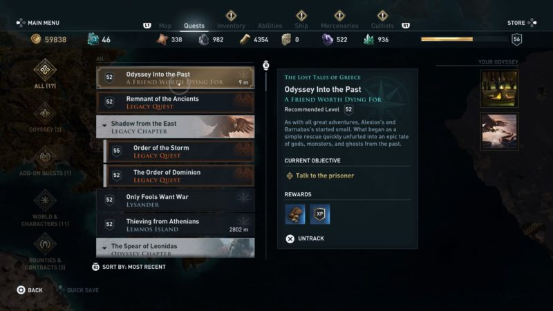Odyssey Into The Past - Assassin's Creed Odyssey Guide