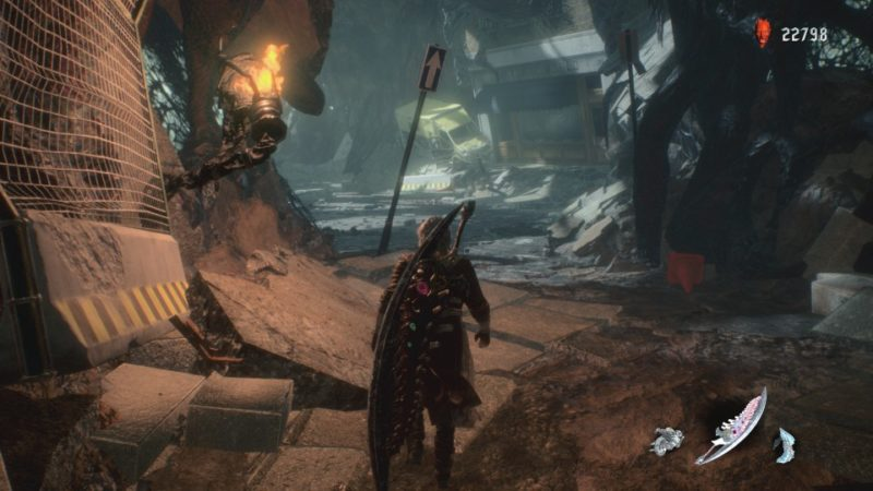 devil may cry 5 - mission 12 quest guide