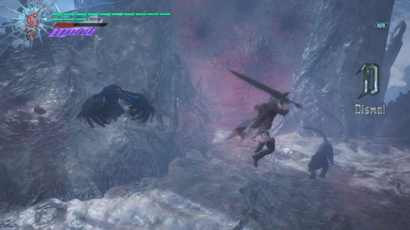 devil may cry 5 - mission 18 defeat griffon