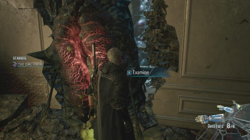 devil may cry 5 - mission 2 qliphoth