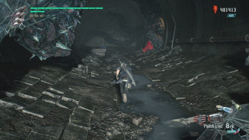 devil may cry 5 - mission 3 flying hunter