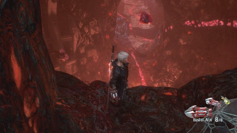 devil may cry 5 mission 8 demon king