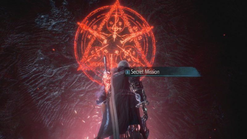 devil may cry 5 - secret mission location