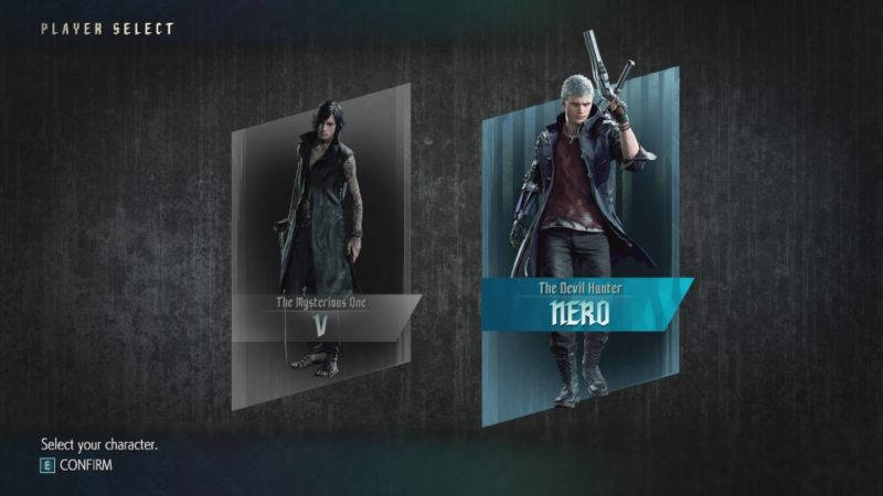 devil may cry 5 - united front - nero or v