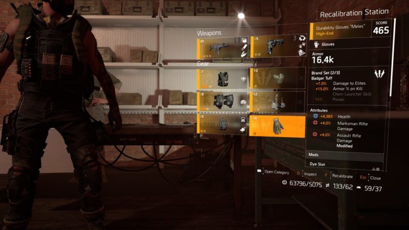 how to increase the gear score - division 2