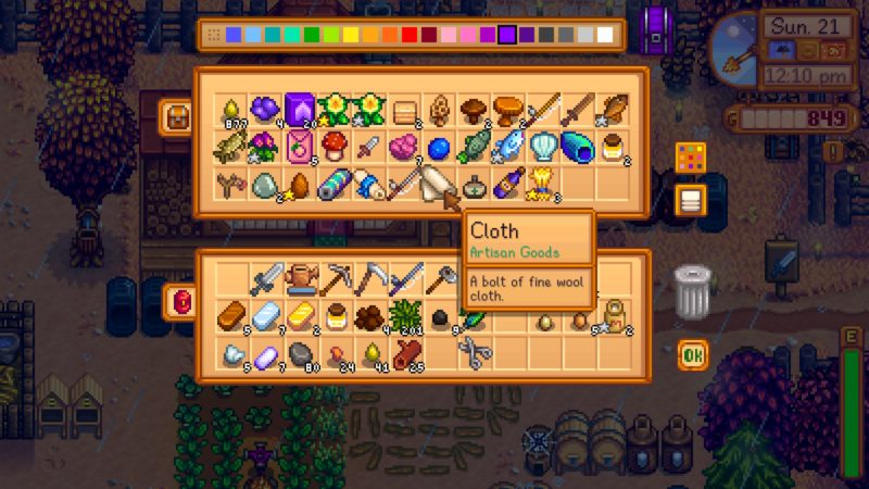 Stardew Valley: How To Make Fine Cloth - Ordinary Reviews