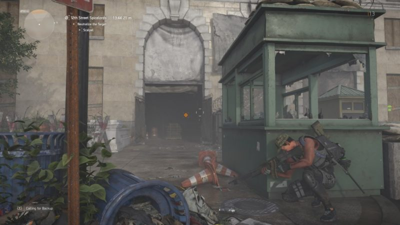 the division 2 - 12th street spicelords location