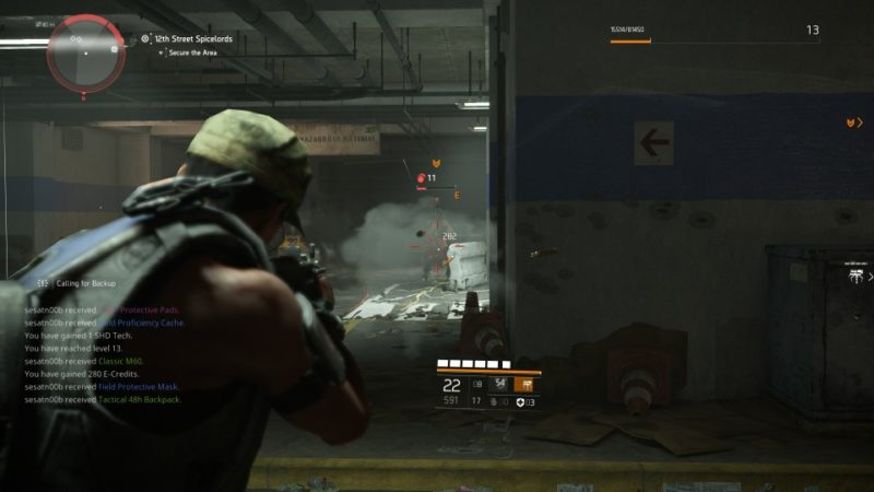 the division 2 - 12th street spicelords walkthrough