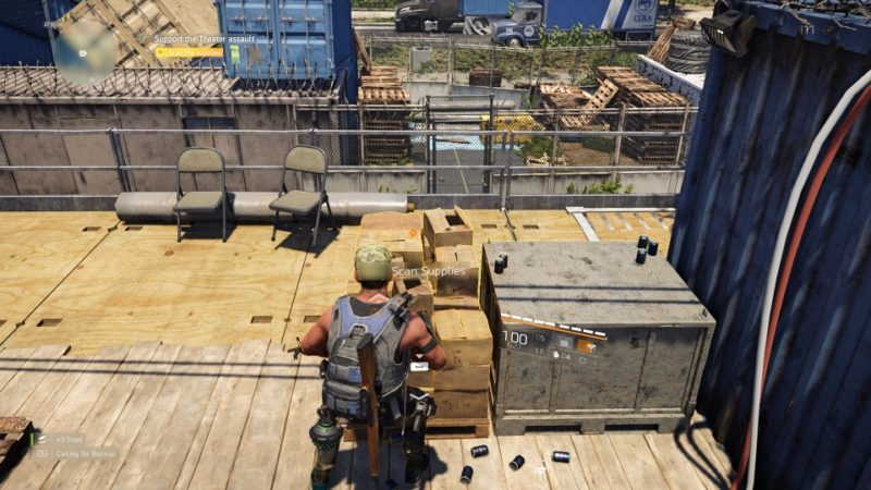 the division 2 - agent brooks support walkthrough guide