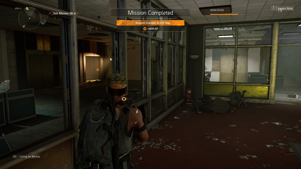 Agent Edwards Support - The Division 2 Walkthrough