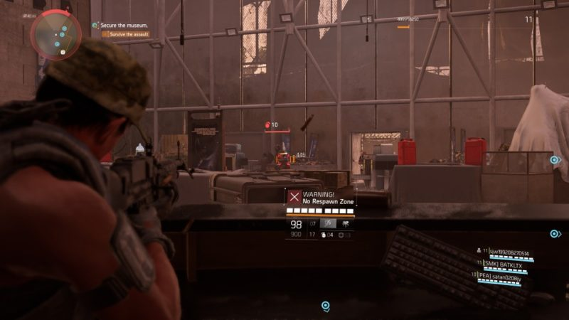 the division 2 - air and space museum where to go