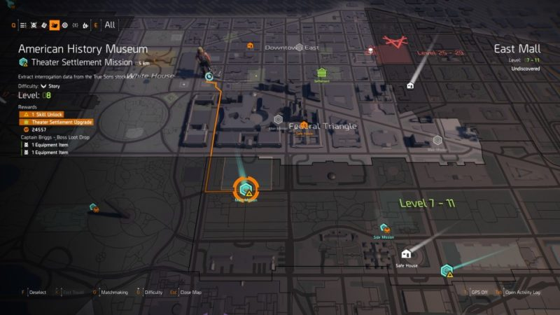 the division 2 - american history museum