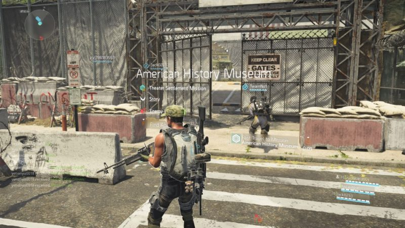 the division 2 - american history museum guide