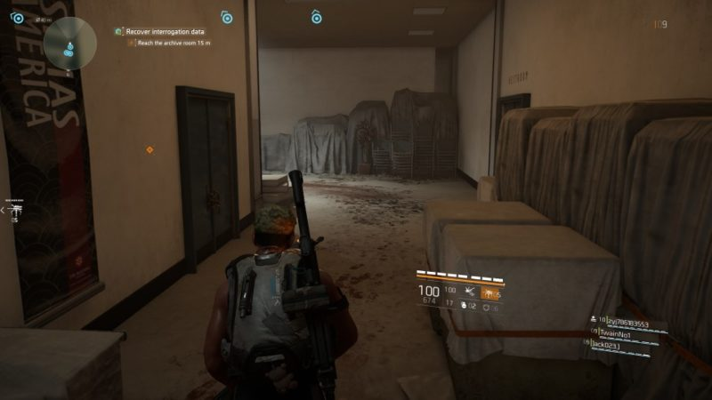 the division 2 - american history museum ,mission