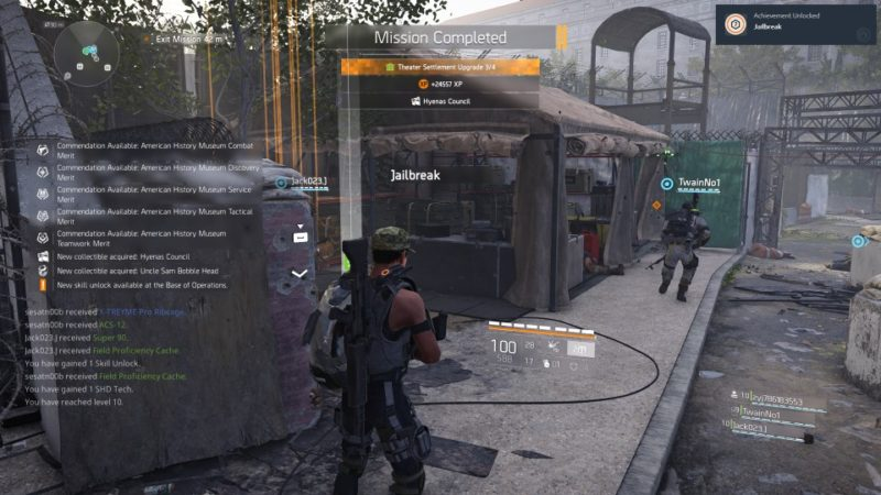 the division 2 - american history museum mission guide and walkthrough