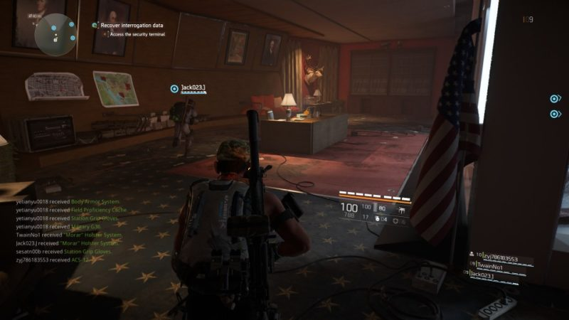 the division 2 - american history museum quest
