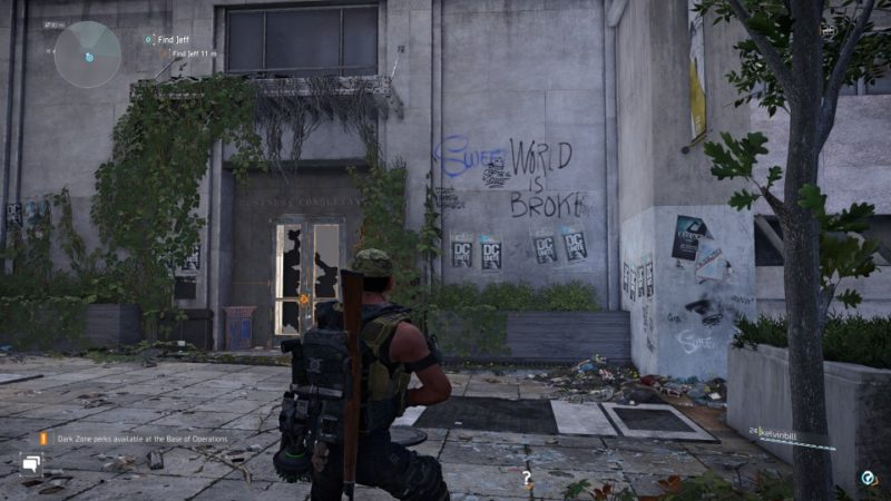 the division 2 - beekeeper jeff guide