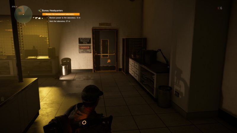 the division 2 bureau headquarters side mission