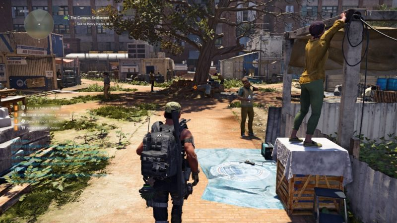 Campus Settlement - The Division 2 Walkthrough - Ordinary Reviews