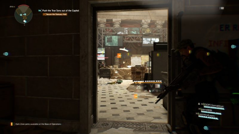 the division 2 - capitol building mission walkthrough