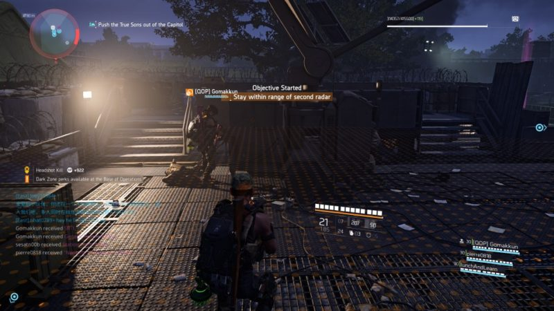 the division 2 - capitol building stronghold mission objectives